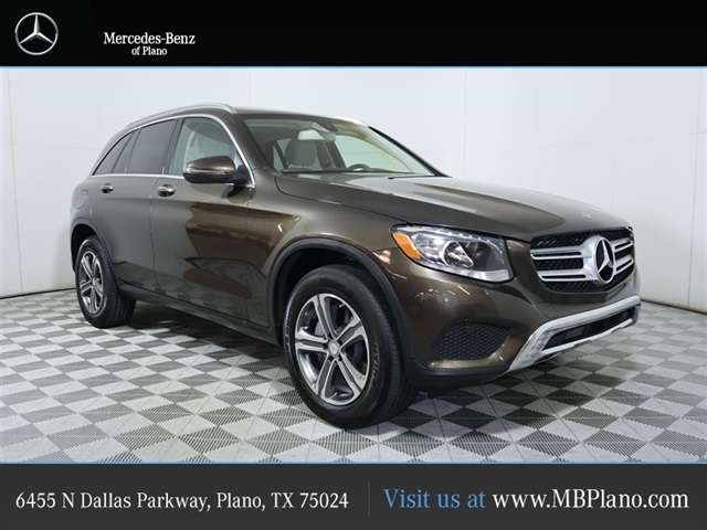 Certified Pre-Owned 2016 Mercedes-Benz GLC GLC 300 SUV in Plano ...