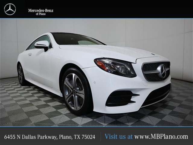 Certified Pre Owned 2018 Mercedes Benz E Cl 400 Sport