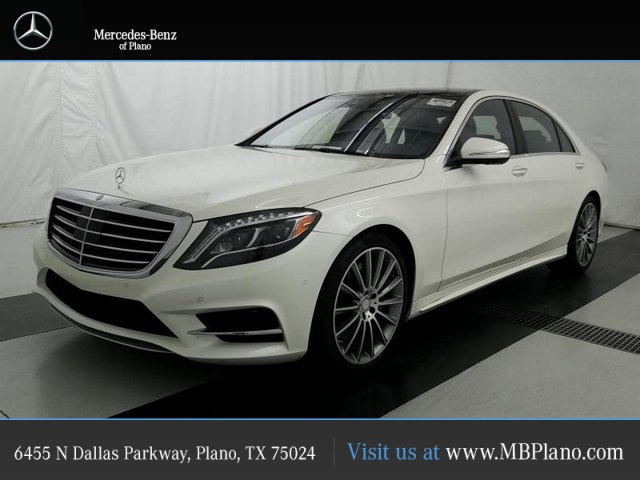 Pre Owned 2016 Mercedes Benz S Cl 550 Sport