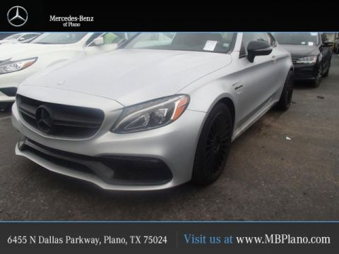 Certified Pre-Owned 2017 Mercedes-Benz C-Class AMG® C 63 S Coupe